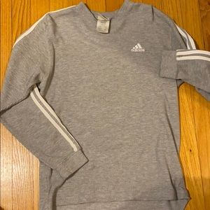 Adidas Gray Long Sleeve Shirt